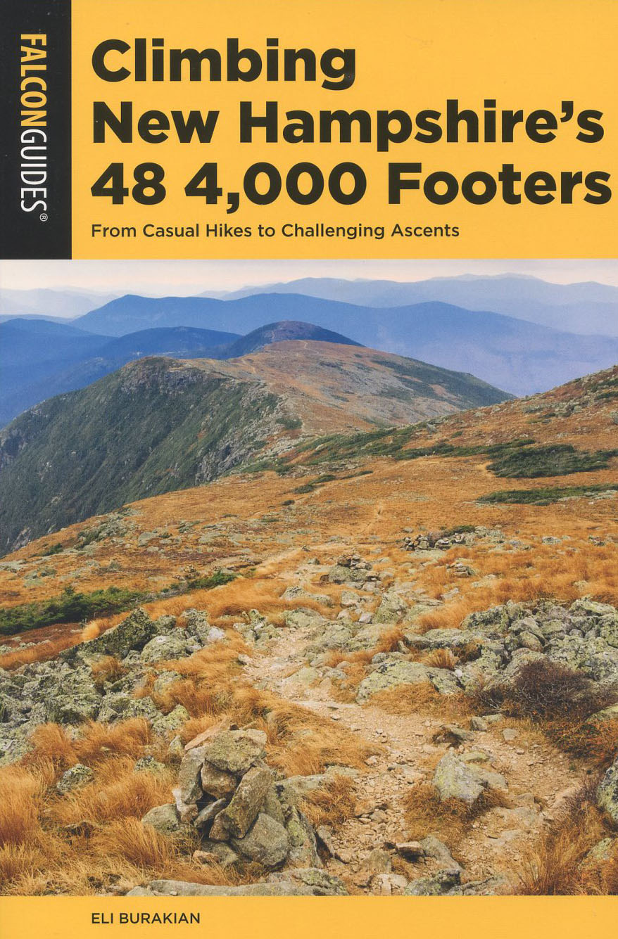 Map Of New England 4000 Footers.Climbing New Hampshire S 48 4 000 Footers Books Maps The
