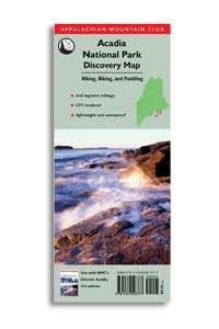 AMC Acadia National Park Discovery Map