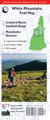 AMC Crawford Notch-Sandwich Range/Moosilauke-Kinsman Trail Map