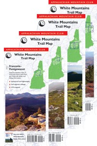 AMC White Mountains Trail Map Set