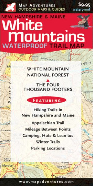 Waterproof White Mountains Trail Map